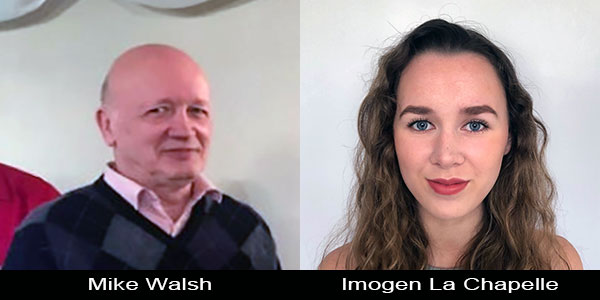 Imogen La Chapelle and Mike Walsh